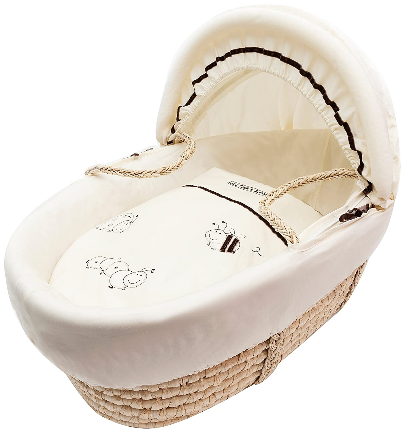 kinder valley daisy boo lucy colin and bumble moses basket cream