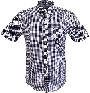 Ben Sherman Mens Ss Crosshatch Shirt