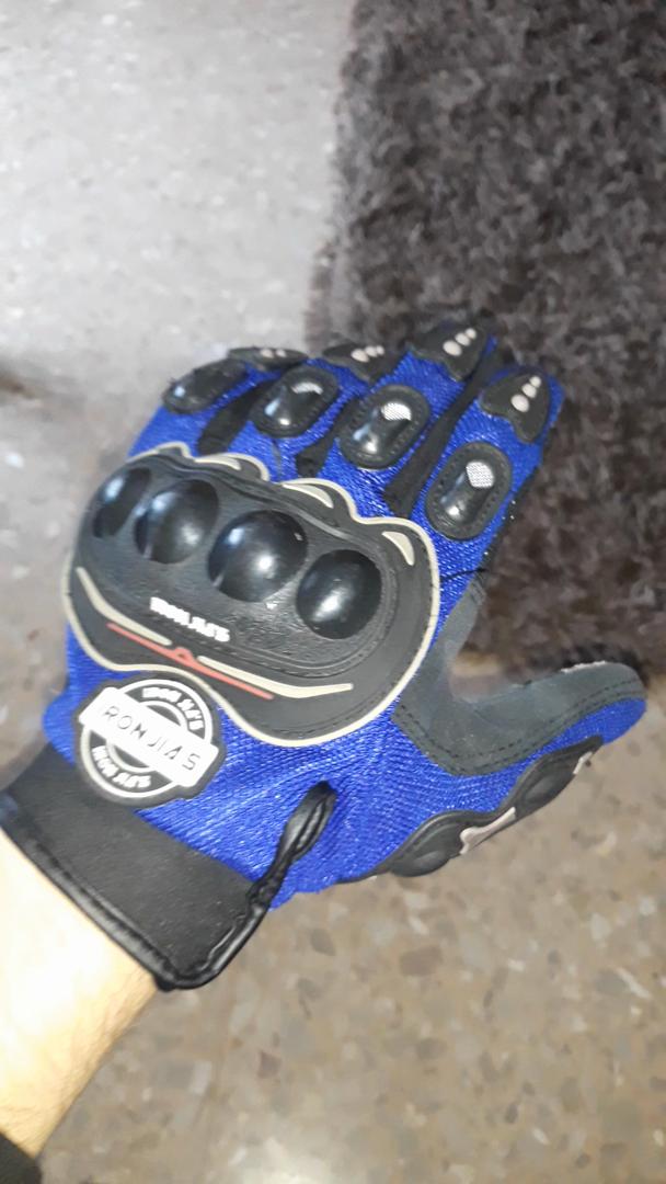 Guantes de motos motocicleta para carreras todo terreno, guantes de moto para pantallas táctiles resistentes a caídas (XXL, Red): Amazon.es: Coche y moto