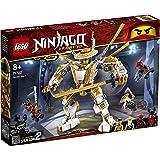 LEGO Ninjago - Robot Dorado, Juguete de Construcción con Figura de Acción, Incluye a Lloyd, Wu y el general Kozu, a Partir de