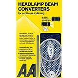 AA Car Headlamp Headlight Beam Converters Adaptors Benders AA8338 – EU Driving Essential – 1 Pair