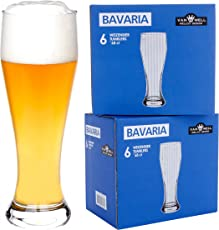 12er Set Bavaria Weizenbiergläser 0,5 Liter geeicht