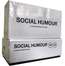 Social Humour: Adult Card Game, an Unofficial Indian Version of Cards Against Humanity, White Colour