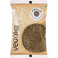 Amazon Brand - Vedaka Popular Green Moong Whole / Sabut, 1 kg