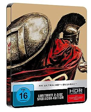 300 4k UHD Limited Steelbook [Blu-ray]