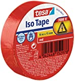 tesa 56192-00013-02 11623 Isolierband, Rot, 1 Rolle