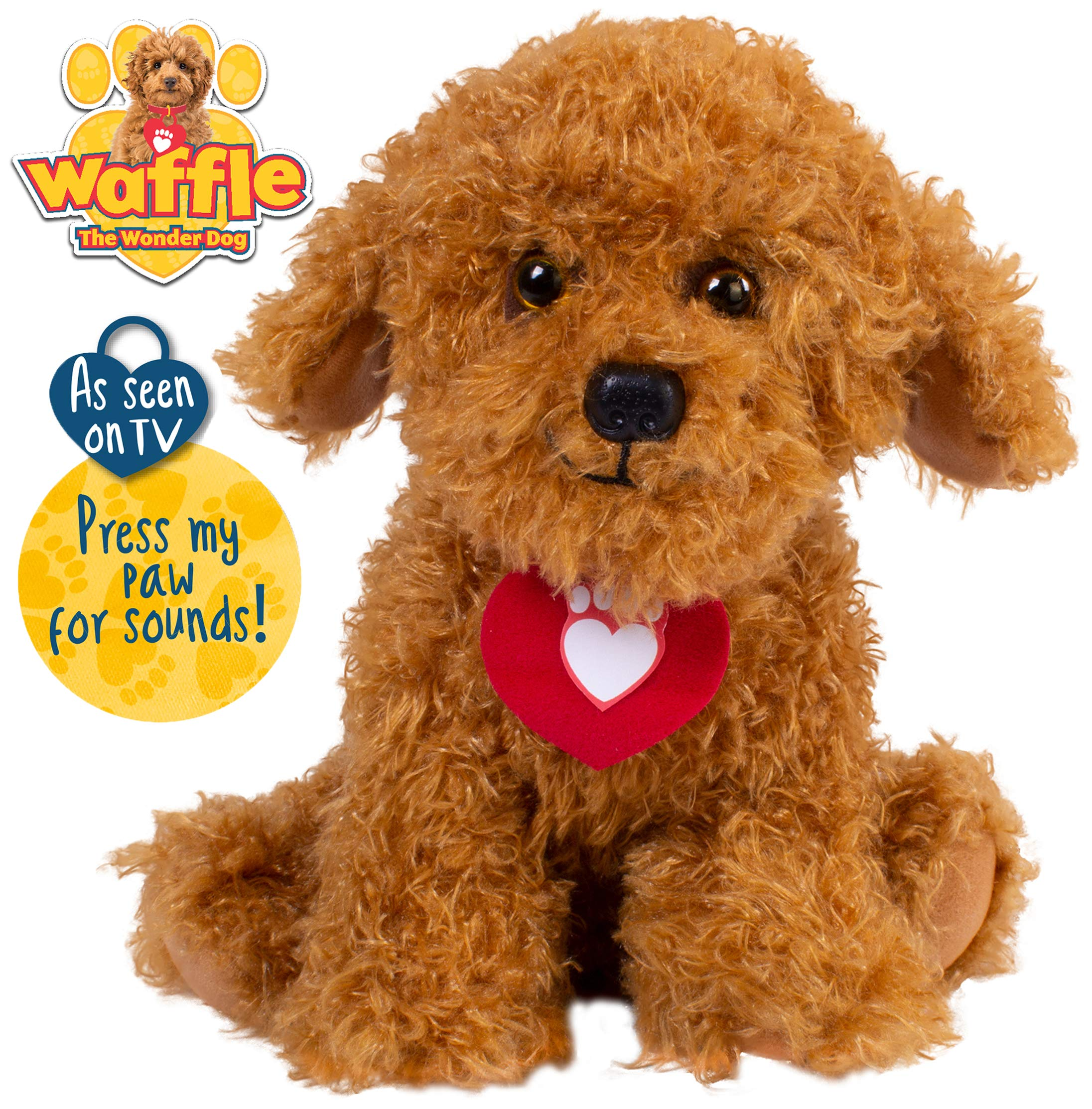 Waffle the Wonder Dog Soft Toy with Sounds 1