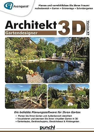 Architekt 3d x9 gartendesigner fotorealistische for Architekt gartendesigner 3d