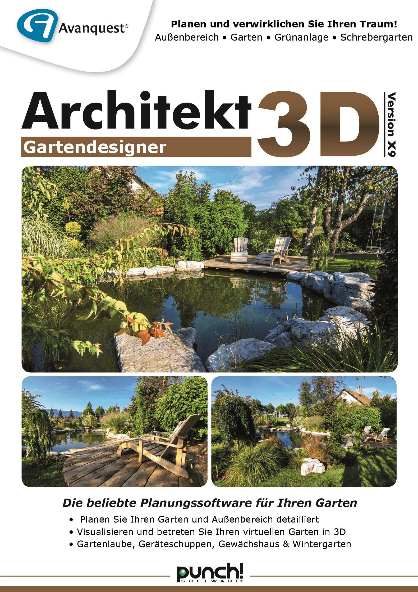 Architekt 3D X9 Gartendesigner   Fotorealistische Gartenplanung Für Ihren  MAC! Auch Für MacOS 10.13 High Sierra [Download]