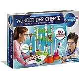 Clementoni 59187 Galileo Science – Wunder der Chemie, 180 Experimente für Zuhause, farbenfroher Experimentierkasten, Spielzeu