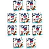 Hero Light barrette ai cereali e cioccolato, 10 confezioni da 6 barrette X 20 gr, senza olio di palma, zero conservanti…