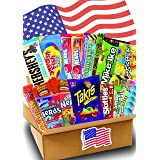 JUMBO USA Süßigkeiten Box - USA Sweets - 21 verschiedene Leckereien - Perfekte Geschenkidee - Box voller TOP Bestseller - 21-