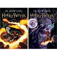 Harry Potter and the Half Blood Prince + Harry Potter and the Deathly Hallows (Harry Potter 7) (Set of 2 books)