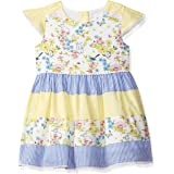 Max Baby-Girl's Cotton Fit and Flare Knee-Length Dress