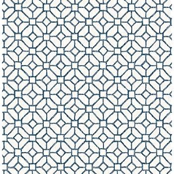 Bhf Fd22238 Ami Gigi Bleu Geometrique Papier Peint Bleu Marine