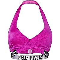 Calvin Klein Crossover Bralette-RP Parte Superiore del Bikini Donna