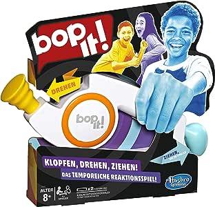 Hasbro Spiele E6393100 Bop It, elektronisches Spiel für Kinder ab 8 Jahren, Multicolor