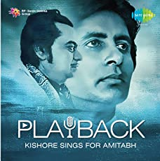 PLAYBACK - KISHORE SINGS FOR AMITABH