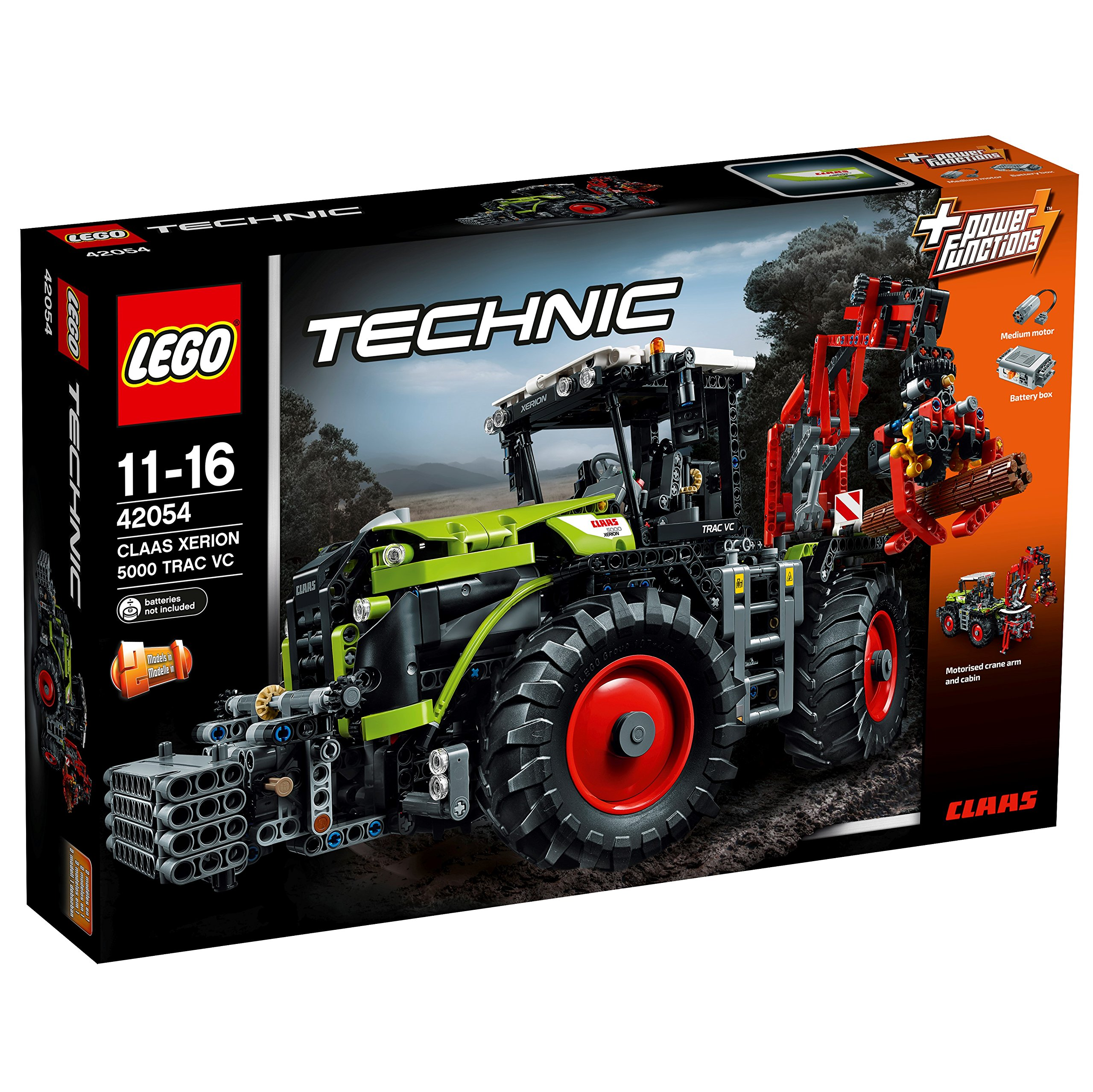LEGO Technic 42054 – Claas Xerion 5000 TRAC VC, Power Functions Motor