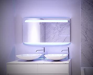 spiegel id - giulia - modern illuminated led bath mirror - with ... - Spiegel Modern