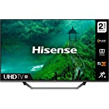HISENSE 43AE7400FTUK Dolby Vision 43-inch 4K UHD HDR Smart TV with Freeview play, and Alexa Built-in (2020 series) , Silver