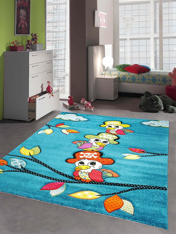 Kinderteppich Spielteppich Kinderzimmer Mädchen und Jungen Teppich ...