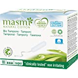 MASMI NATURAL COTTON Bio Tampons Super (18 Stück)