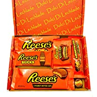 Reese's American Sweets Box - USA Candy Peanut Butter Gift Set by Dolci Di Lechlade Reeses Present Hamper