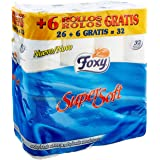 Foxy - Papel Higienico Supersoft 26 + 6R