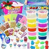 Dookey Kit de Slime, DIY Slime Set, Activador Slime para Hacer Kit Slime, Crystal Slime con Galaxy Slime Huevos, Regalo para