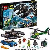 LEGO®-DC Comics Super Heroes™ Le Batwing et le cambriolage de l'Homme-Mystère Jouet DC Comics Enfant 7 Ans et Plus, 489 Pièces 76120