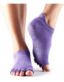 Toesox - Chaussettes de Yoga Danse antidérapantes 5e63cd4ad55