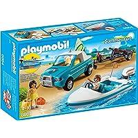 Playmobil - 6864 Voiture avec bateau et moteur submersible