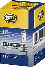 HELLA 8GH 007 157-201 Glühlampe Long Life, Halogen Scheinwerferlampe, H7, 55 W, 12 V