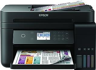 Epson EcoTank ET-3750 nachfüllbares 3-in-1 Tintenstrahl Multifunktionsgerät (Kopierer, Scanner, Drucker, DIN A4, ADF, Duplex, USB 2.0, hohe Reichweite, niedrige Seitenkosten)
