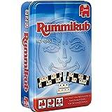 Jumbo JUM03817 Original Rummikub Compact in metalen doos, plankspel