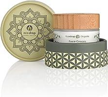 Ecodrop Organic Cream pour le visage, crème quotidienne avancée pour femmes et hommes, 100% d'ingrédients naturels, pour...