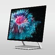 Microsoft Surface Studio 2 (LAH-00021), All in One Desktop, Intel Core i7-7820HQ, 28 Inch, 1TB SSD, 16GB RAM, NVIDIA GeForce GTX 1060, Windows 10 Pro, Eng-Ara KB, Silver [Middle East Version]
