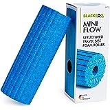 BLACKROLL® MINI FLOW, kleine foamroller voor zelfmassage van armen, benen en voeten, draagbare massage roller voor onderweg,
