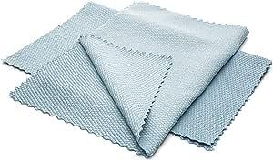 Mikrofasertücher 25 Stück Tücher 25 X 20 Cm Fusselfreie Microfaser Premium Qualität Reinigungstuch S Größe Küche Haushalt