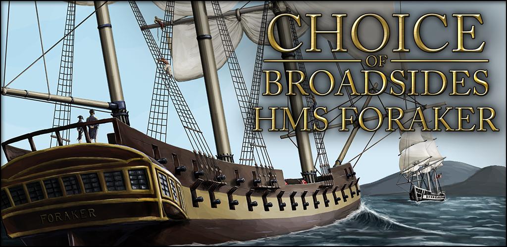 Zoom IMG-1 choice of broadsides hms foraker