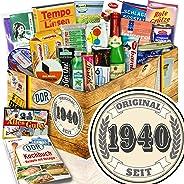 Original seit 1940 / Geschenke für Opa 80 / Ost - Set Spezialit?ten