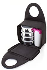 Wellcare Carewell Royal Stainless Steel Tiffin Set With Glass (Colors May Vary)