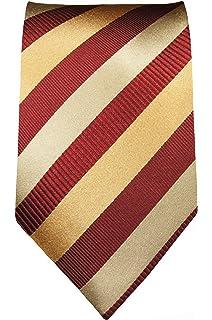 Normall/änge, Extralang oder schmal Paul Malone Krawatte blau gelbe paisley Seidenkrawatte