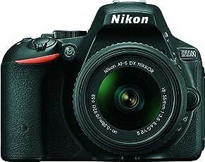 Nikon D5500 DX-Format Digital SLR Camera + AF-P 18-55mm VR Lens Kit + Memory Card + Camera Bag