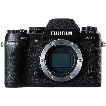 """Fujifilm X-T1 Fotocamera Digitale 16 MP, Sensore X-Trans CMOS II APS-C, Schermo LCD 3"""", Orientabile, Ottiche Intercambiabili, Solo Corpo, Nero"""