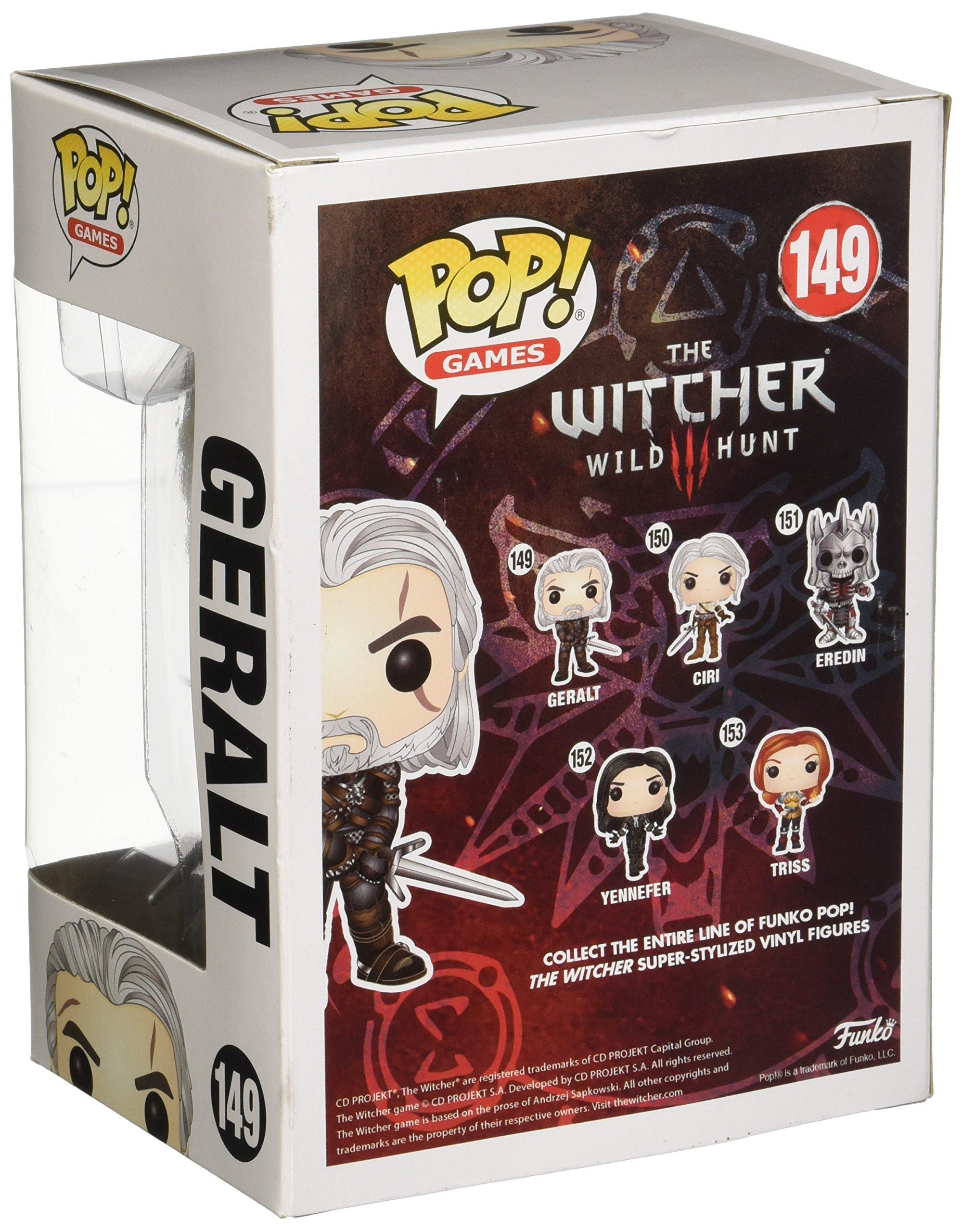 Funko Pop Geralt (The Witcher III 149) Funko Pop The Witcher
