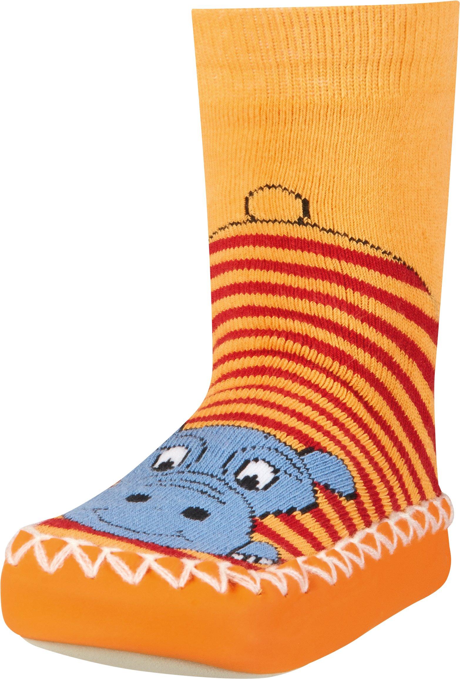Playshoes Zapatillas con Suela Antideslizante Hippopotamus, Pantuflas Unisex Niños 1