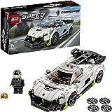 LEGO Speed Champions Koenigsegg Jesko, Auto Sportiva con Minifigure del Pilota, Macchina Giocattolo per Bambini, 76900