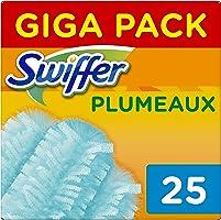 Swiffer - Recharges pour Plumeau Attrape-Poussière Duster - 25 plumeaux (5x5)